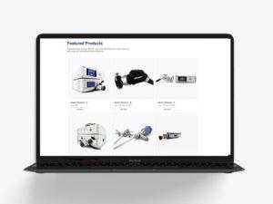 Medicenter - Webdesign Charlotte